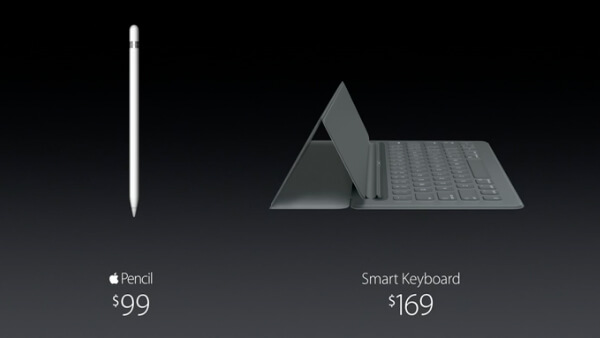 Apple Pencil y Smart Keyboard