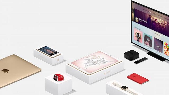 Apple publica su guía de regalos para este 2015