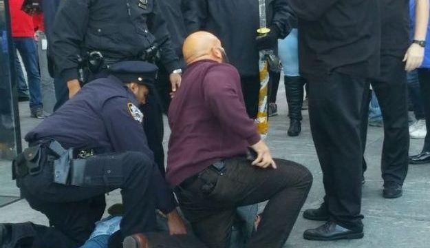 Arresto del hombre