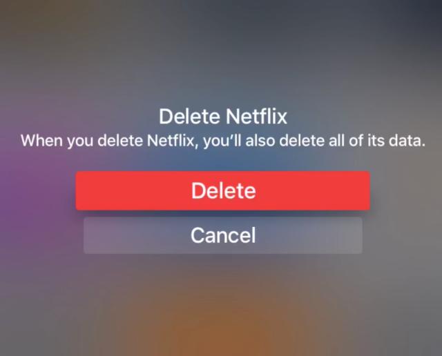Cómo eliminar aplicaciones en tu Apple TV