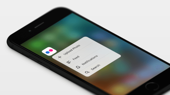 Flickr 3d touch
