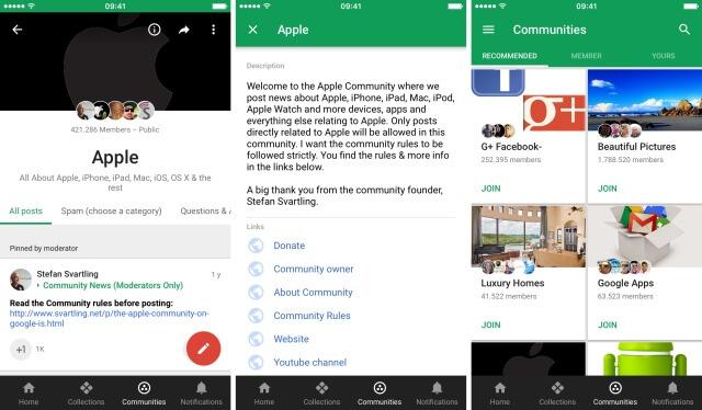 Google + Comunidades