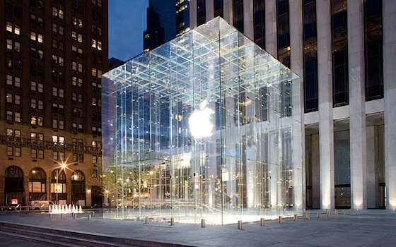 Hombre con espada acudió a una Apple Store