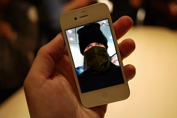 IPhone contra Robo