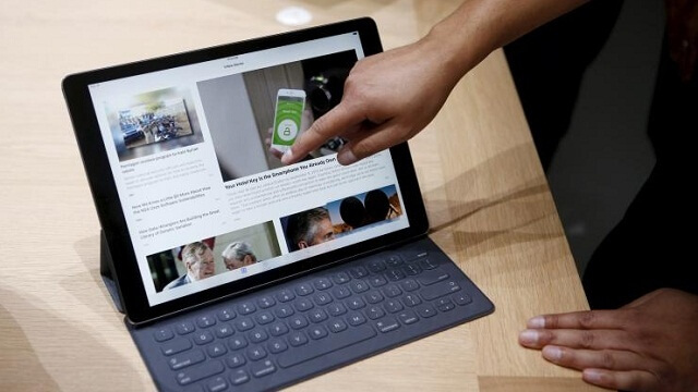 Los accesorios del nuevo iPad Pro, el Apple Pencil y el Smart Keyboard aun no se encuentran disponibles