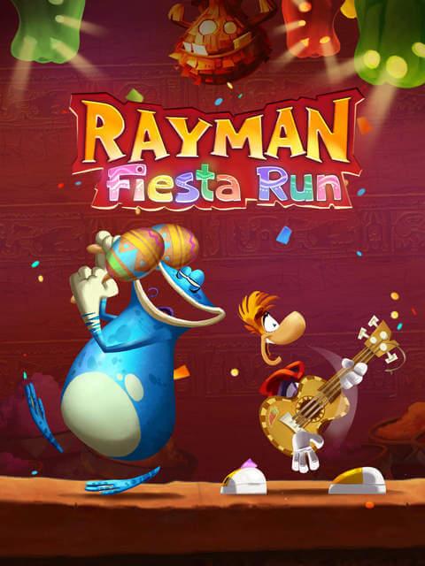 Rayman Fiesta Run fue elegido por Apple como la aplicación de la semana