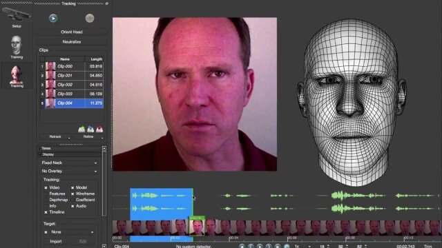 Software de faceshift