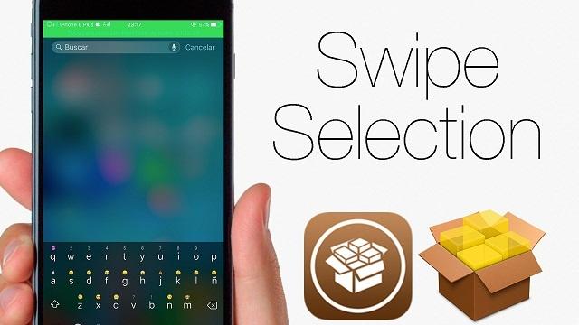 SwipeSelection Agiliza el uso del teclado en iOS sin  3D Touch