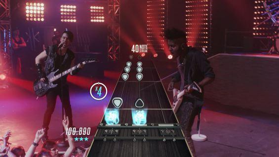 Vive una experiencia en vivo con Guitar Hero Live