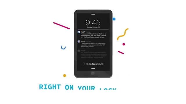 Facebook nos trae Notify, una nueva app para iOS