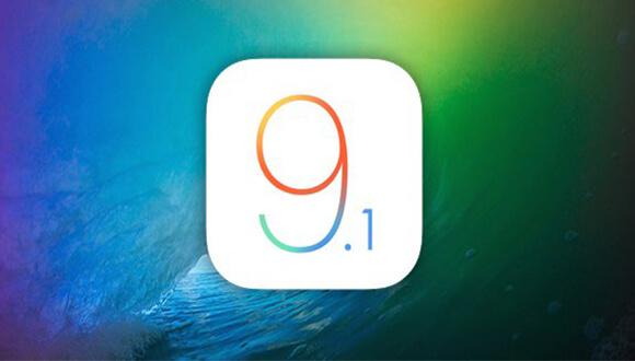luego de haber realizado la actualización del software al nuevo iOS 9.1