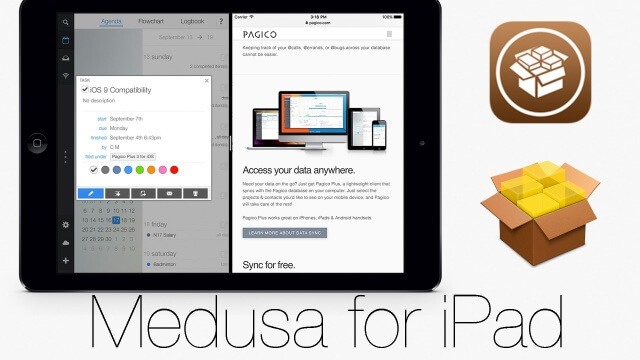 MedusaFi: SplitView del iPad Air 2 para todas las iPad