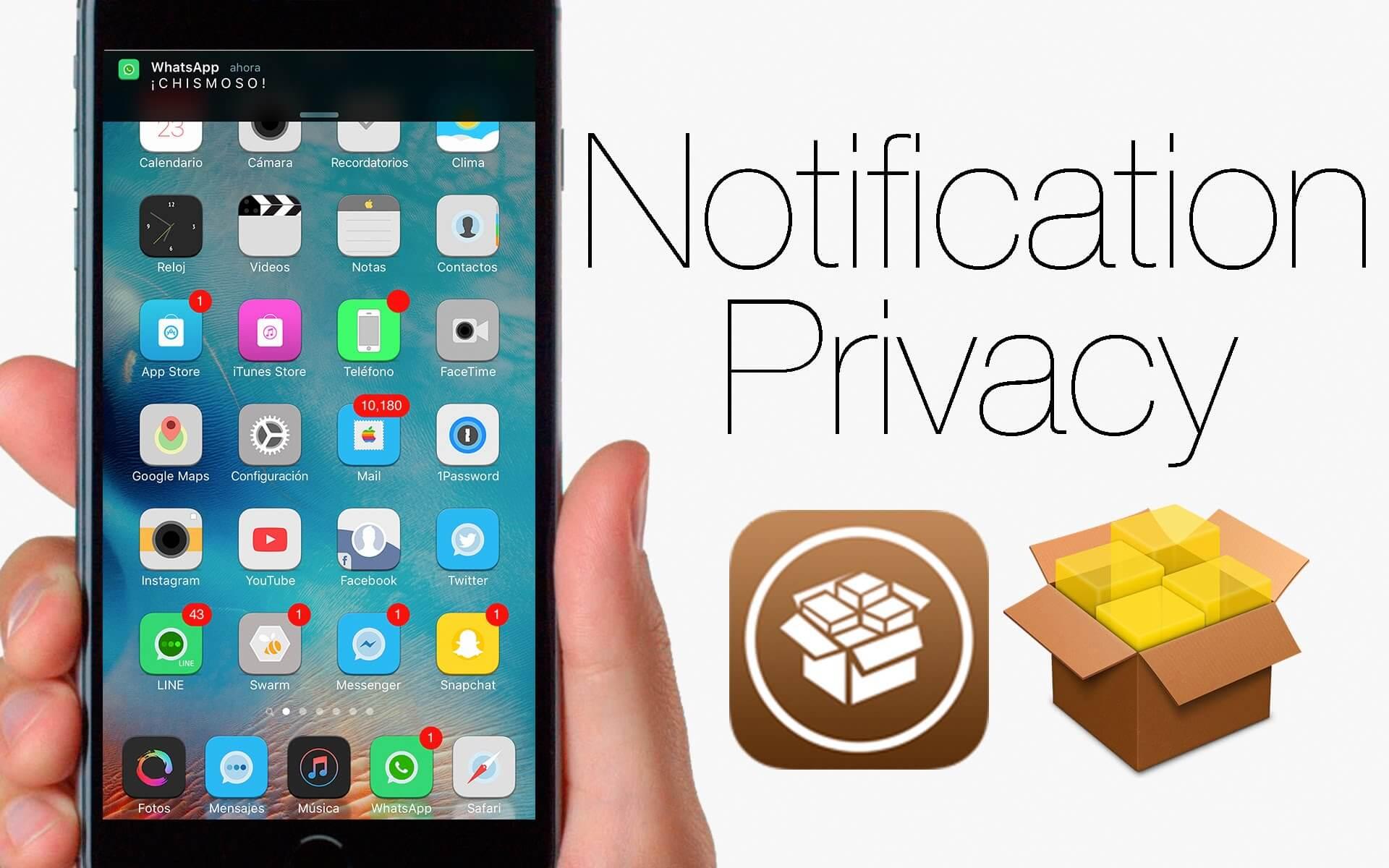 Notification Privacy: Mucha seguridad a nuestras notificaciones