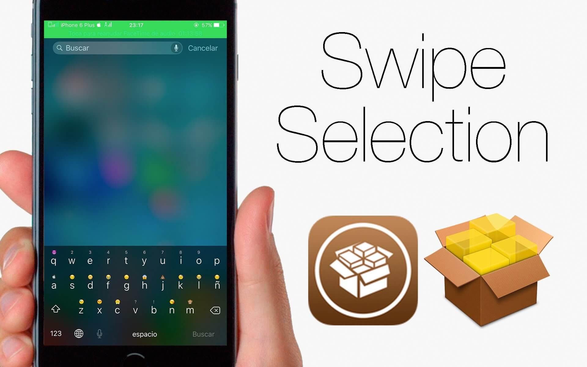 SwipeSelection: Agiliza el uso del teclado en iOS sin 3D Touch