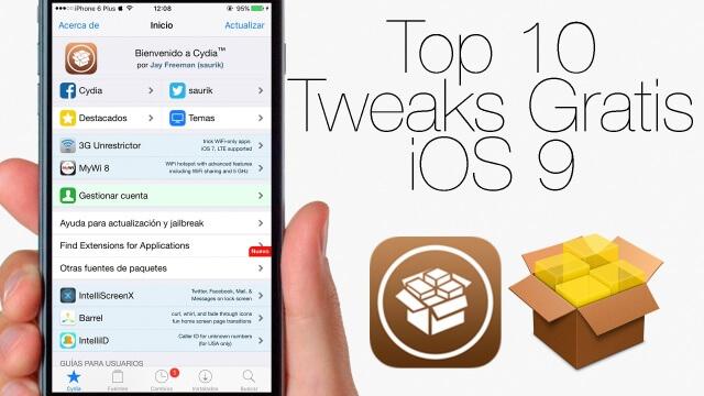Top 10 de Tweaks de Cydia Gratuitos en iOS 9