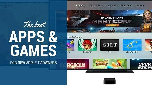 10 de las mejores aplicaciones y juegos para los nuevos usuarios del Apple TV