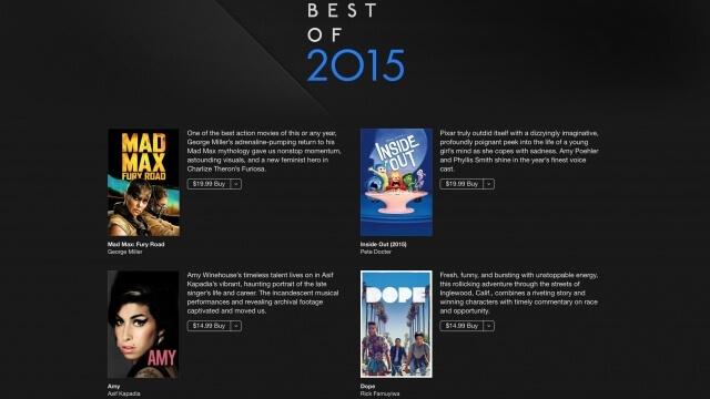3. Mejor Película del 2015