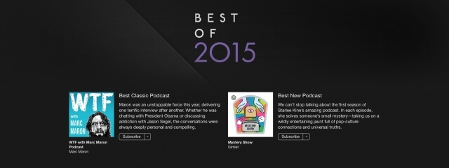 5. Mejor Podcasts del 2015