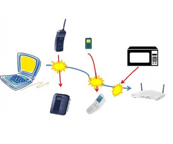 Diversos aparatos electrónicos afectan el Wi-Fi