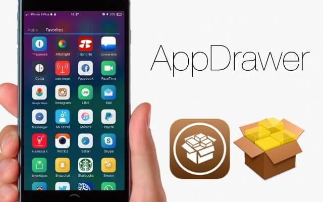 AppDrawer añade un launcher para las aplicaciones de iOS 9