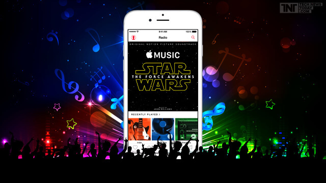 Apple Music Star Wars