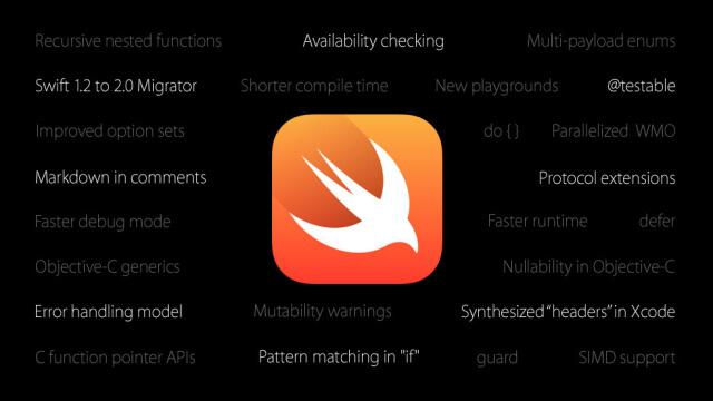 Apple anuncia el lanzamiento de Swift bajo código abierto