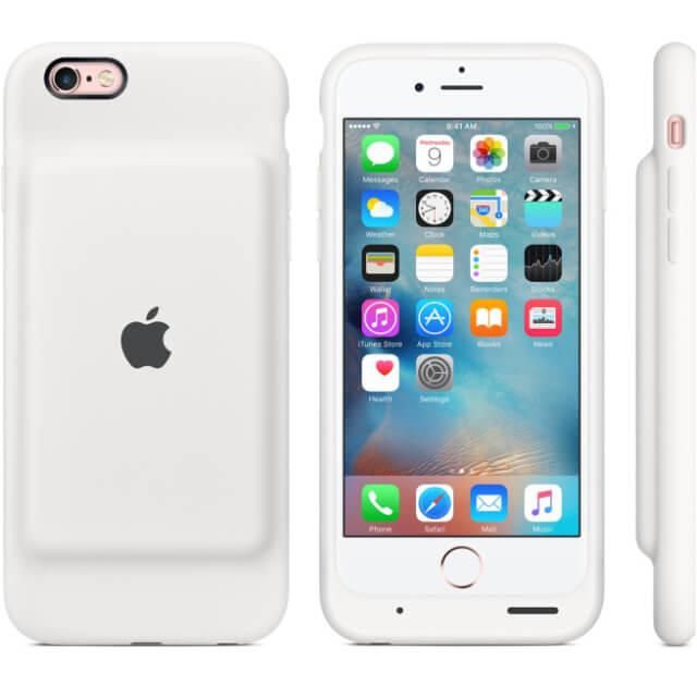 Apple lanza oficialmente su primera carcasa inteligente para el iPhone 6s 5