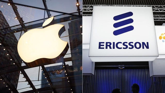Apple y Ericsson ponen fin a su disputa sobre la licencia de patentes