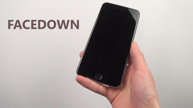 Bloquea tu iPhone con FaceDown a través de un movimiento