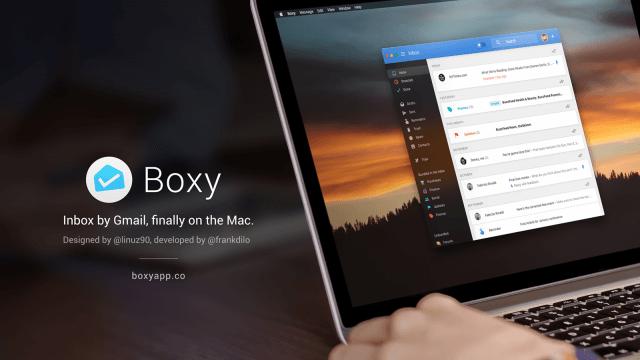Boxy para Mac