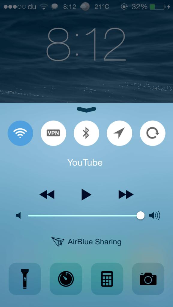 CClean  Cambia el aspecto del Control Center  Cydia iOS 9