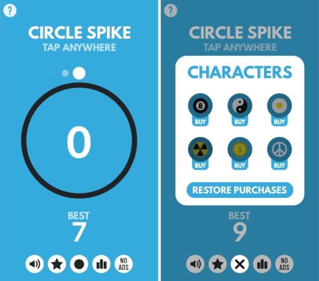 Circle Spike 3
