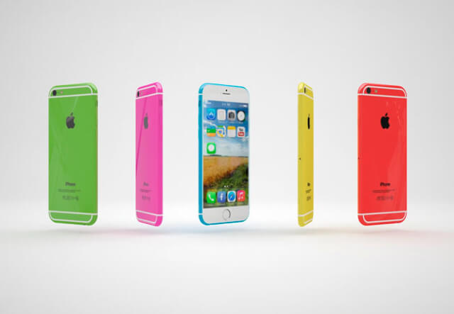 Colores del iPhone 6c