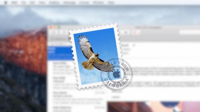 Desactivar la opcion Swipe Left en el Mail de OS X