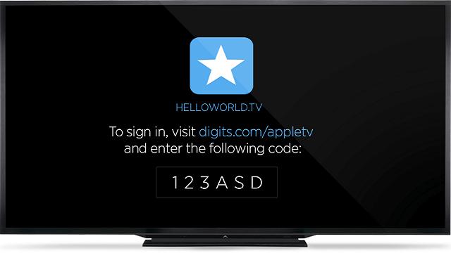 Digits soporte Apple TV