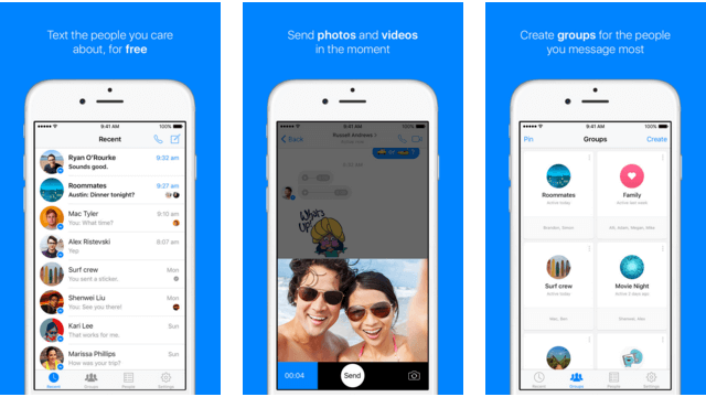 Facebook Messenger 3D Touch