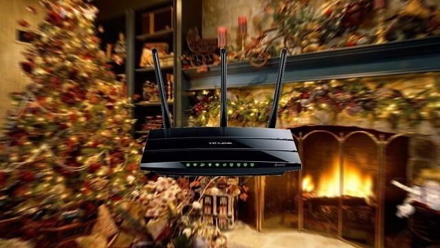 Luces de navidad afectan la velocidad de tu Wi-Fi