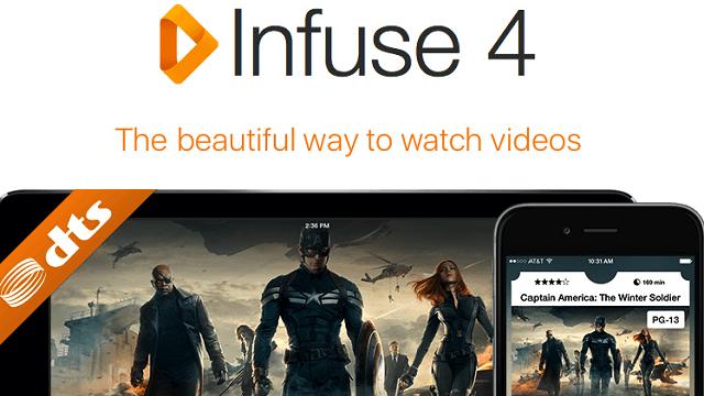 Infuse for Apple TV recibe su primera actualización