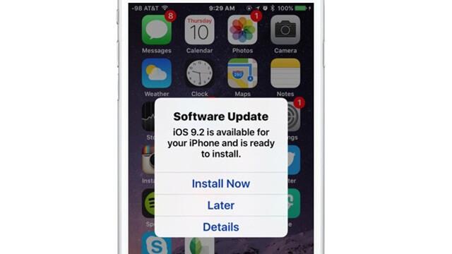 Instala automáticamente la actualización del iOS mientras duermes - copia