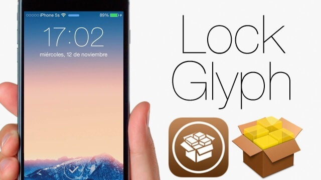 LockGlyph Añade animaciones en el Lockscreen al usar el Touch ID