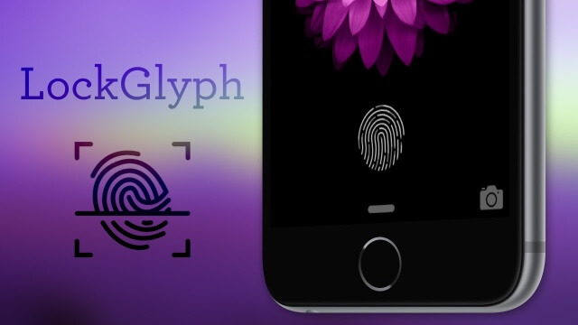 LockGlyph Touch ID