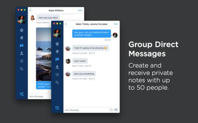 Mensajes de grupo