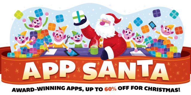 Nuevos descuentos disponibles en App Santa para el iPhone, iPad y Mac - copia