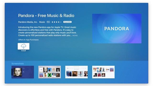 Pandora Radio ya se encuentra disponible en Apple TV 3
