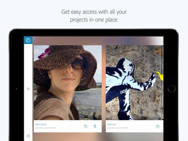 Photoshop Fix ahora cuenta con soporte de Apple Pencil en el iPad Pro en su nueva actualización  5