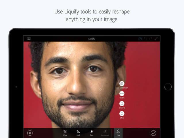 Photoshop Fix ahora cuenta con soporte de Apple Pencil en el iPad Pro en su nueva actualización