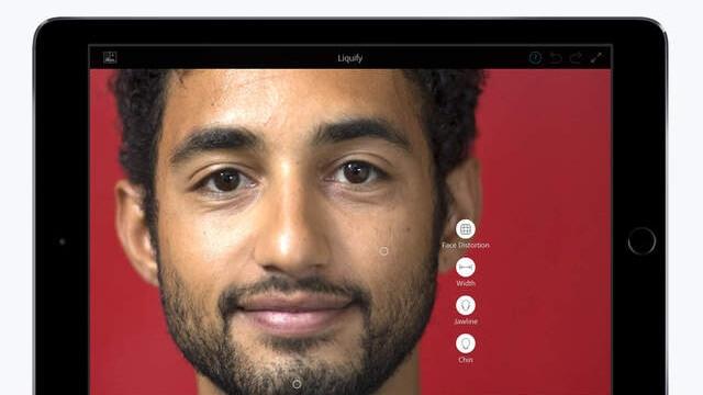 Photoshop Fix ahora cuenta con soporte de Apple Pencil en el iPad Pro en su nueva actualización - copia