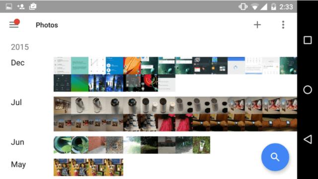 Respaldo y Fotos Google
