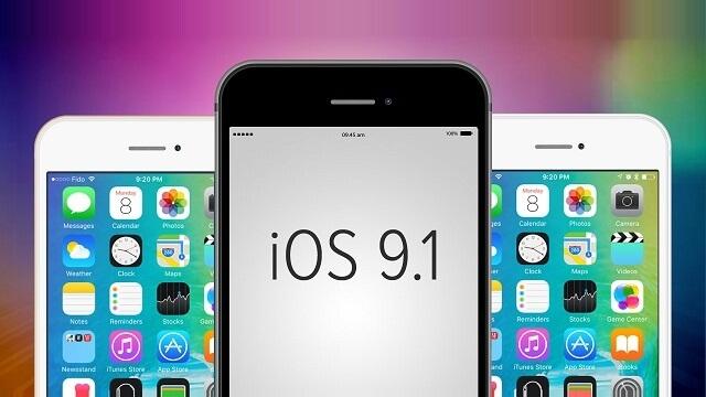 apple iOS-9.1