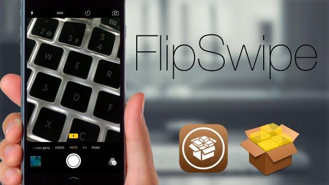 FlipSwipe: Cambia de cámara fácil y rápido en iOS